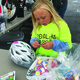 Ella Thompson, 7, decorates a helmet during Healthy Herriman's eighth annual Pedal Palooza on May 21. – Tori La Rue