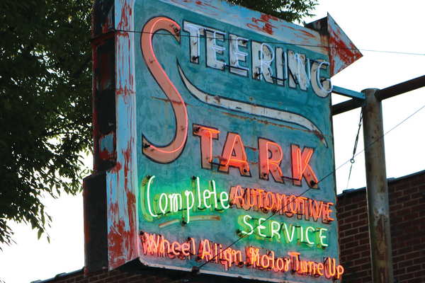 The sign-lighting ceremony for the Stark Steering Sign was held on June 4 at the United Natural Products Alliance building on 1075 East Hollywood Ave. —Dino Furano