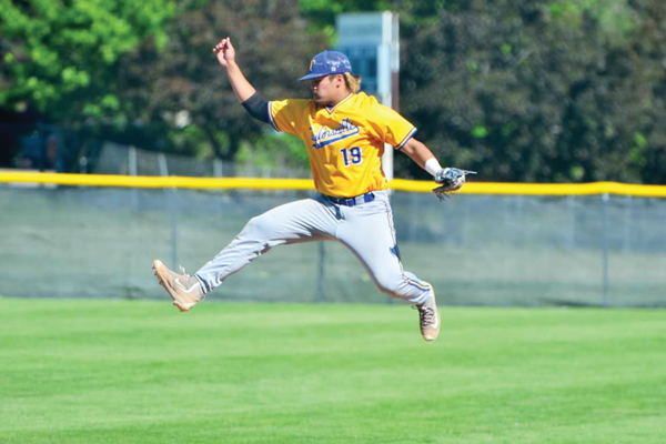 Taylorsville High School baseball player Braden DeBenedictis loves how playing baseball is a great stress reliever. –Braden DeBenedictis