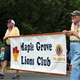 Maple Grove Lions Club at the 2016 Maple Grove Days Pierre Bottineau Parade along 89th Avenue Thursday, July 14
