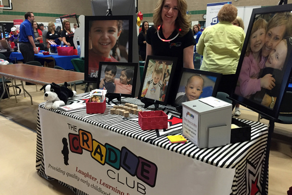 The Cradle Club at the Maple Grove Days Business Expo 2016. (photo by Wendy Erlien)