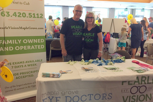 Maple Grove Pearle Vision at the Maple Grove Days Business Expo 2016. (photo by Wendy Erlien)