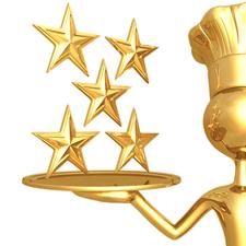 Medium restaurant review 5 stars