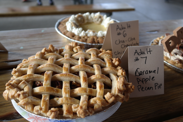 Winning Adult Pie, Caramel Apple Pecan by Irma McDonald. —Erin Dixon