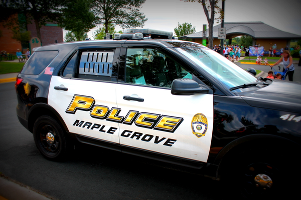 Maple Grove Police Department (file photo by Wendy Erlien)