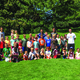 Murray resident Andy Christensen organized a soccer camp in June called Kicks 4 Cans, where the entry fee was an item of food donated to the Utah Food Bank. —Lindsay Christensen