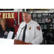 Sandy City Fire Chief Bruce Cline speaks at the press event announcing the release of Parents Empowered videos featuring Sandy firefighters and the display of anti-underage drinking graphics on various Sandy firefighting vehicles at Sandy City Fire Station 31 on June 30, 2016. —Chris Larson