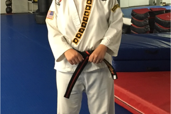 July 16, 2016 – Now a Jr. Black belt At the age of 16 she is eligible to test for her adult Black belt.