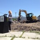 Salt Lake City Mayor Jackie Biskupski speaks during a news conference at the ceremonial demolition of the Ute Car Wash on 2100 South and Windsor Street on July 6. –Travis Barton
