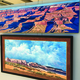 Ron Larson's paintings hang in the George S. & Dolores Dore Eccles Gallery at his alma mater, Salt Lake Community College. –Tori La Rue