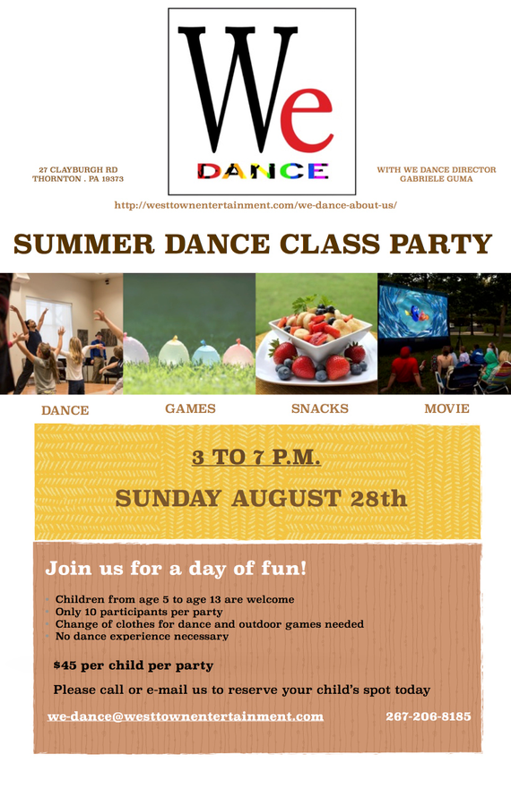 Summer dance party flyer4