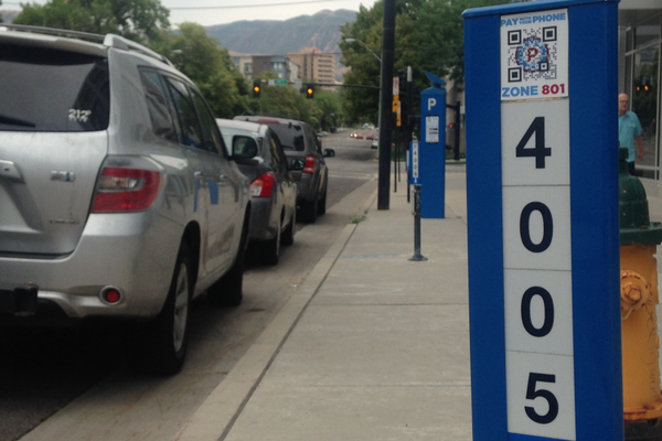 Downtown paid parking is scarce – Jordan Greene