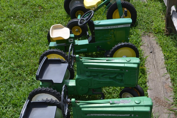 These toys may pave the path of future farmers.