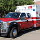 The Sandy City Council toured the Sandy City Fire Department's newest Ford-Frazer Bilt ambulance, equipped with a Stryker bariatric stretcher and lift system, that was delivered earlier in the year on Aug 23, 2016, south of Sandy City Hall. (My City Journals/Chris Larson)
