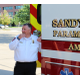 Sandy City Fire Chief Bruce Cline fields questions from the City Council and other city administrators after showing them the department's newest ambulance for an update meeting and tour held in lieu of a council meeting on Aug. 23, 2016, on the south side of Sandy City Hall. (My City Journals/Chris Larson)