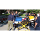 The Sandy City Fire Department loaded the gear needed for a simulated service call onto a stretcher that the Sandy City Council ran under Fire Department guidance at the Sandy City Hall on Aug. 23, 2016. (My City Journals/Chris Larson)