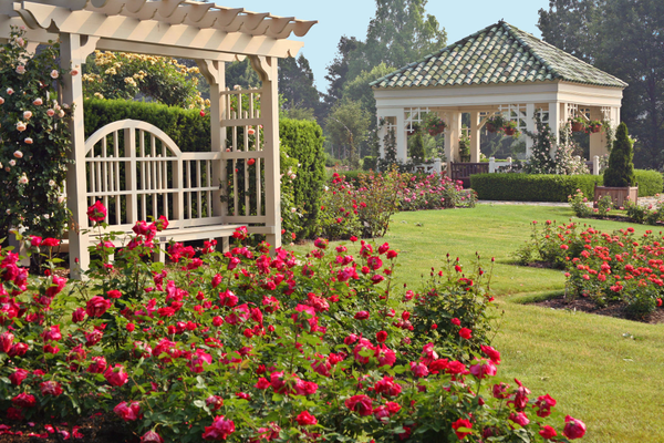 Hershey Gardens Gazebo. Photo courtesy of Hershey Gardens.
