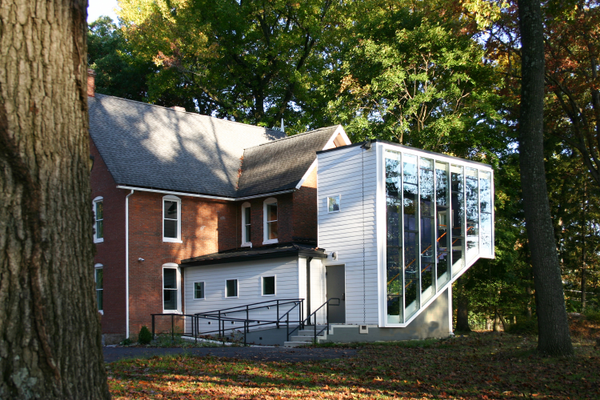 The Danjuma African Art Center at Lincoln University includes an annex that Rahme designed.