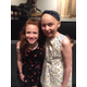 (L-R) Libby Serber, Acting Studio student & daughter of one of the night's featured professional performers Cara Serber, with Ella.