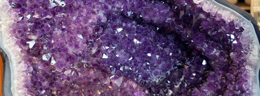 Amethyst 20crystals 20in 20geode