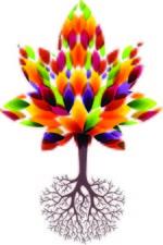 Medium decorative tree and roots