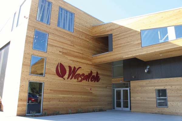 Wasatch Charter School opened its doors for the first time this fall. (Carol Hendrycks/City Journals)