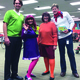 Jordan Valley staff and faculty join students in dressing up as part of the Halloween fun.  Last year, the main office staff dressed up as Scooby Doo's gang. (Gay Smullen/Jordan Valley School)