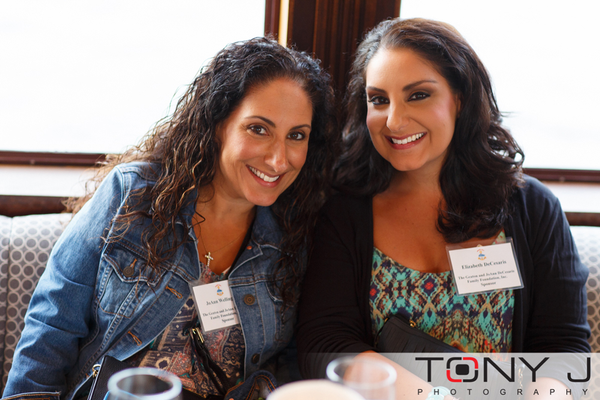 JoAnn Wellington and Elizabeth DeCesaris, both with The Geaton and JoAnn DeCesaris Family Foundation, Inc. (Event Sponsor)