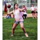 Riverton girls had a chance to flash their football skills in the Silverwolves powderpuff tournament. (Dave Sanderson/dsandersonpics.com)