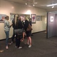 Alumni look at art and reminisce about Pat. (Natalie Mollinet/City Journals)