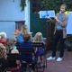 Children's Author Entertains Young Readers