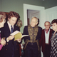 Helen Sipala, Jamie Wyeth, Andrew Wyeth, George Sipala, and Helen Volotti in 1989.