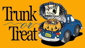 Trunk or Treat - start Oct 30 2016 0530PM