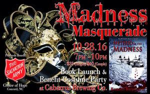 Medium madness masquerade logo web