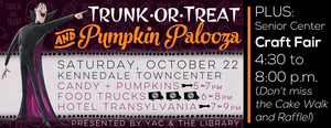 Trunk-or-Treat  Pumpkin Palooza - start Oct 22 2016 0430PM