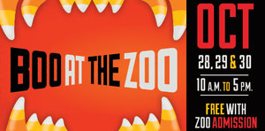 Boo At The Zoo - start Oct 28 2016 1000AM