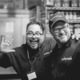 Chefs Jeromie and Rod from The Painted Table