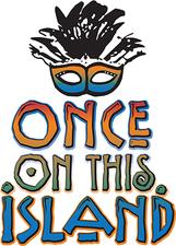 Medium once on this island logo