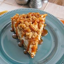 Medium quaker apple crisp cheesecakes