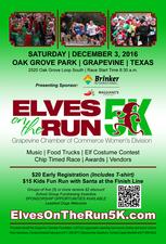 Elves on the Run 5K - start Dec 03 2016 0830AM