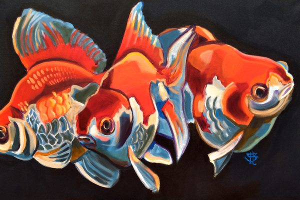 """Fish"" by Tiffany Brazell. (Lisa O'Bryan/Holladay Arts Council)"