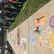 Elk Ridge Middle School students examine the chalk art talents of their classmates during the school's fall chalk art festival. (Julie Slama/City Journals)