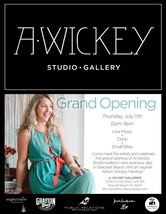 Medium a. wickey studio gallery grand opening