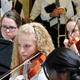 The Oquirrh Hills Middle School Symphonic Orchestra performs at the Utah State Capitol on Oct. 3. (Jordan School District)