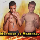 Copper Hills High School wrestler won his first MMA fight in a TKO Oct. 15. (Jordan Marshall/Victory MMA)