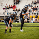 The Jaguar offense relies on quarterback Dyan Krans' ability to read the defense and make the correct calls at the line of scrimmage. (Shelly Oliverson/West Jordan football)