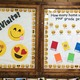 Home Visit Board helps reinforce that home visits are fun. When teachers visit their students they take selfies that surround this board showing how much fun they had when their teacher visited them. (Aspen Perry/City Journals)