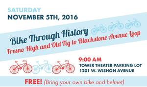 Bike Through History - start Nov 05 2016 0900AM
