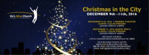 Christmas In The City - start Dec 09 2016 0630PM