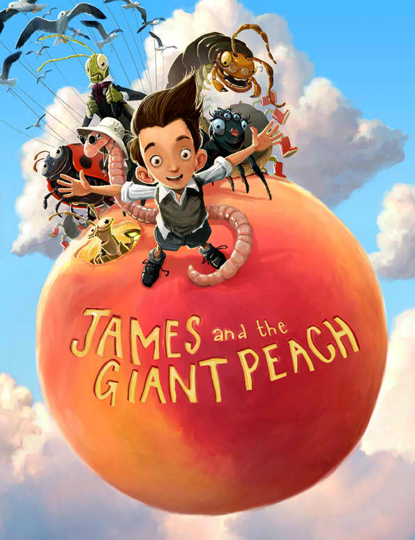 Most read james and the giant peach roald dahl books